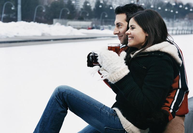 свидание зимой