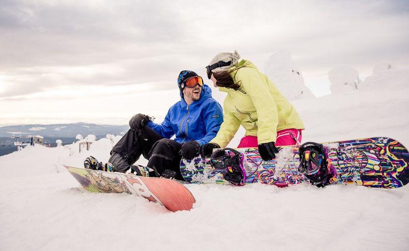 свидание на сноуборде